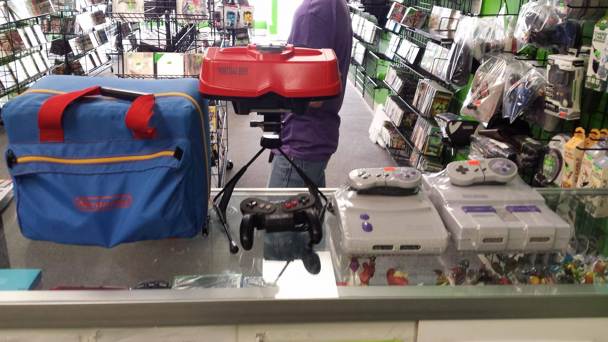 Nintendo Virtual Boy in Store