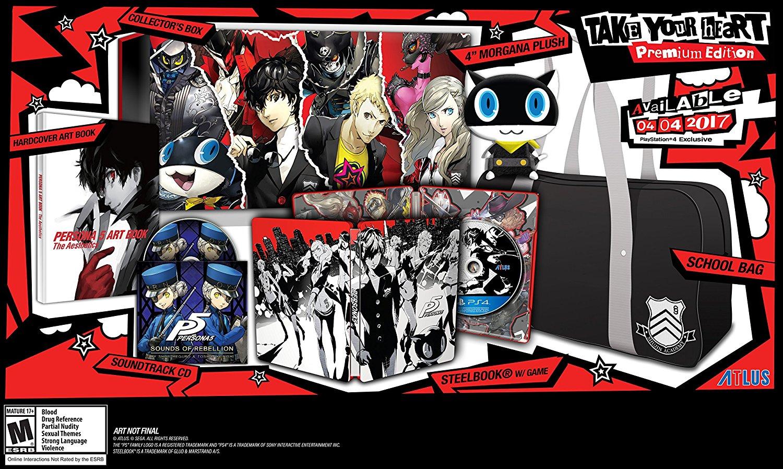 Persona 5: Take Your Heart Premium Edition Items