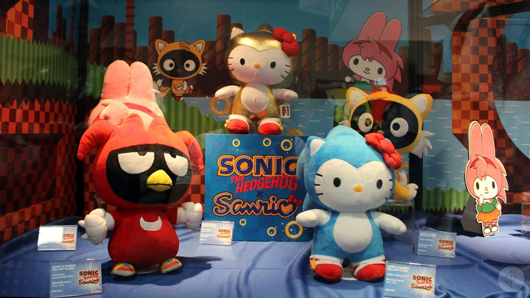 4b6e1649b With SDCC 2018 just around the corner, it's very possible that we will see  a new Hello Kitty X Sonic exclusive plush! Only time will tell.